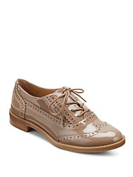 Franco Sarto Wing Tip Lace Up Oxfords Blush Taupe