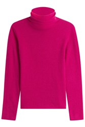 81 Hours By Dear Cashmere Carmen Turtleneck Pullover Pink