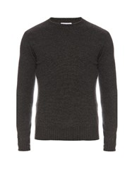 Tomas Maier Cashmere Crew Neck Sweater Grey