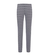 Missoni Zig Zag Skinny Trousers Female Black