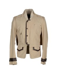 Andrew Mackenzie Coats And Jackets Jackets Men Beige