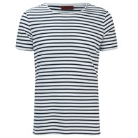 Hugo Men's Dhoenix Striped T Shirt White