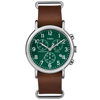 Timex Weekender Chrono Oversized Watch Green