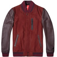 Nike Destroyer Jacket Medium Team Red Heather