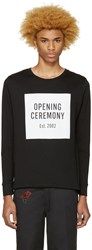 Opening Ceremony Black Box Logo T Shirt