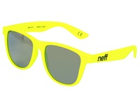 Neff Daily Shades Tennis Rubber Sport Sunglasses Yellow