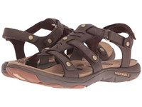 Merrell Adhera Three Strap Ii Brown Women's Sandals