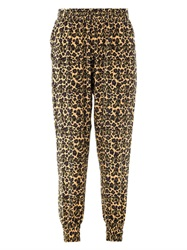 Mother Of Pearl Rhea Safari Bug Print Trousers