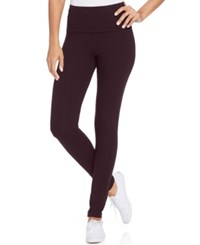Styleandco. Style Co. Tummy Control Leggings Only At Macy's Dried Plum