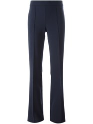 Victoria Victoria Beckham Flared Trousers Blue