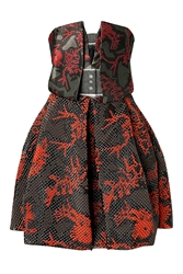 Kenzo Jacquard Monster Cocktail Dress