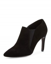 Cole Haan Allaire Suede Pointed Toe Bootie Black