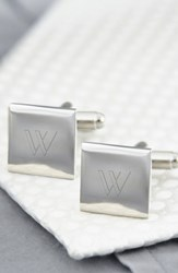 Men's Cathy's Concepts Personalized Square Cuff Links W