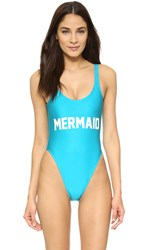 Private Party Mermaid One Piece Madagascar Blue