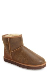 Uggr Men's Ugg Classic Mini Bomber Boot With Genuine Shearling Or Uggpure Tm Lining
