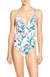 Somedays Lovin Women's 'Freesia' Floral Print One Piece Swimsuit
