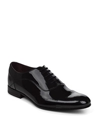 Ted Baker Archeey2 Patent Leather Oxfords Dark Grey