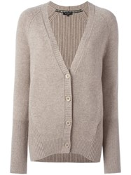 Etro V Neck Cardigan Nude And Neutrals