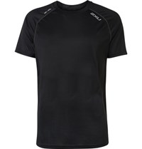 2Xu Tech Vent Jersey Running T Shirt Black