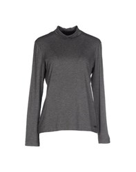Clips More Topwear T Shirts Women Grey