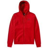 Nike Jordan Brand Flight Fleece Zip Hoody Red