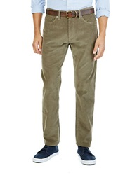 Nautica Spinnaker Slim Fit Corduroy Pants Beige