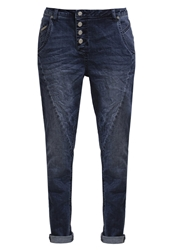 Opus Relaxed Fit Jeans Blue Washed Blue Denim