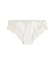 Dolce And Gabbana Stretch Satin And Lace Briefs