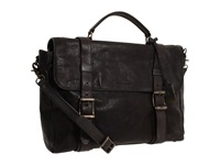 Logan Flap Brief Case Chocolate Briefcase Bags Brown