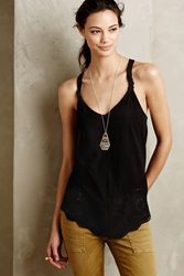 Meadow Rue Knotted Lace Tank