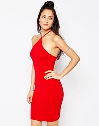 Motel Keylse Dress Red