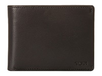 Tumi Chambers Double Billfold With Id Black Bill Fold Wallet