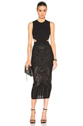 Sass And Bide The Glass Wings Dress In Black