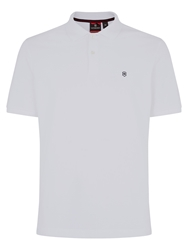 Victorinox Vx Stripe Polo Shirt White