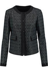 Etro Boucle Tweed Jacket Green