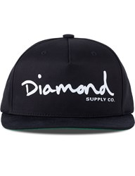Diamond Supply Co. Og Script Snapback Cap