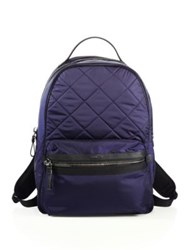Moncler George Quilted Nylon Backpack Navy Black
