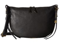 Lucky Brand Nyla Crescent Hobo Black Handbags