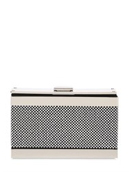 Giuseppe Zanotti Micro Studded Metal And Suede Clutch