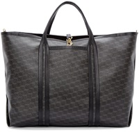 Pierre Hardy Gray Cube Perspective Tote Bag