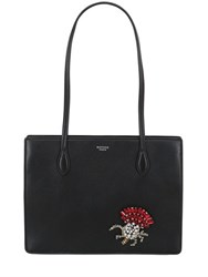 Rochas Medium Rivoli Embellished Nappa Bag