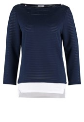 Kiomi Sweatshirt Black Iris Dark Blue