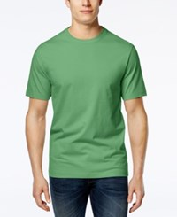 Club Room Men's Paxton Crew Neck T Shirt Only At Macy's Light Pesto