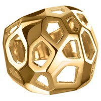 Delphine Leymarie Facets Cage Ring 18K Yellow Gold