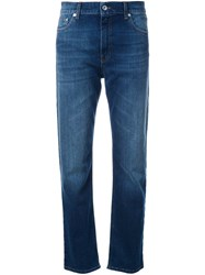 Mcq By Alexander Mcqueen Slim Fit Jeans Blue