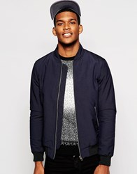 Reiss Bomber Jacket Navy