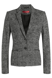 Hugo Blazer With Cotton And Wool Black
