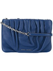 Marc Jacobs Gathered Crossbody Bag Blue