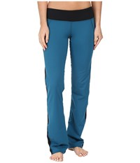 Hot Chillys Mtf Flex Flare Pants Lagoon Black Women's Casual Pants Blue