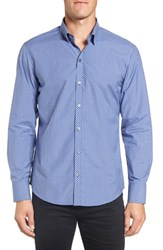 Zachary Prell Men's 'Decker' Trim Fit Plaid Sport Shirt